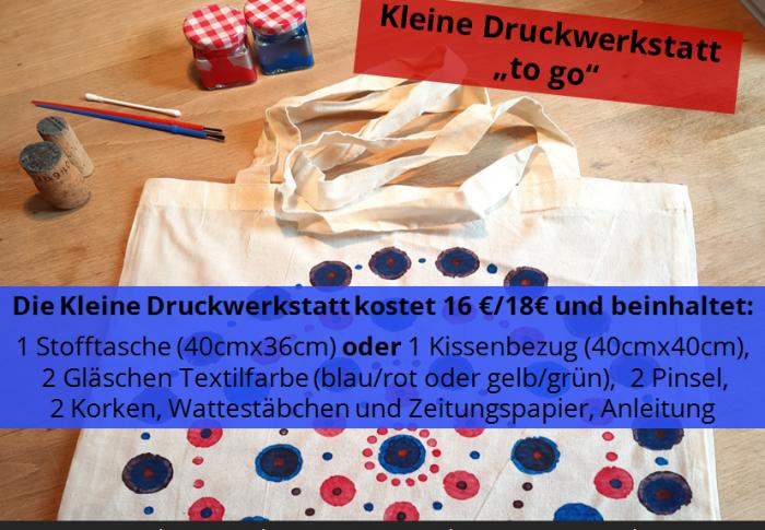 Ferien-Zuhause-Druck-Werkstatt