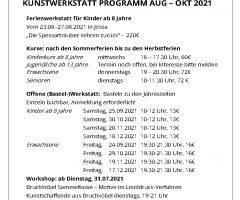 Das aktuelle Programm